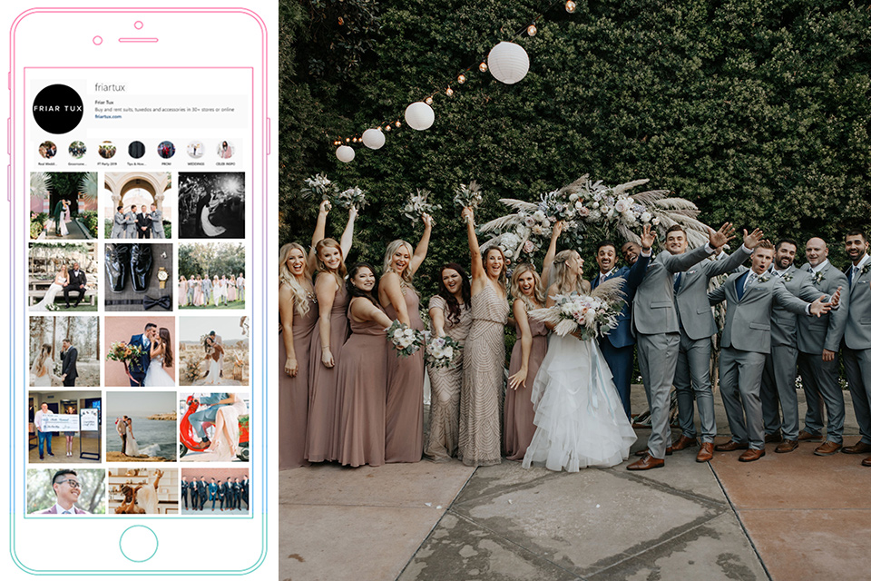 How to Design Your Wedding Using Instagram
