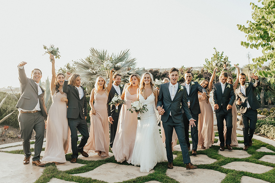 Beachy Vintage Wedding at Monarch Beach Resort