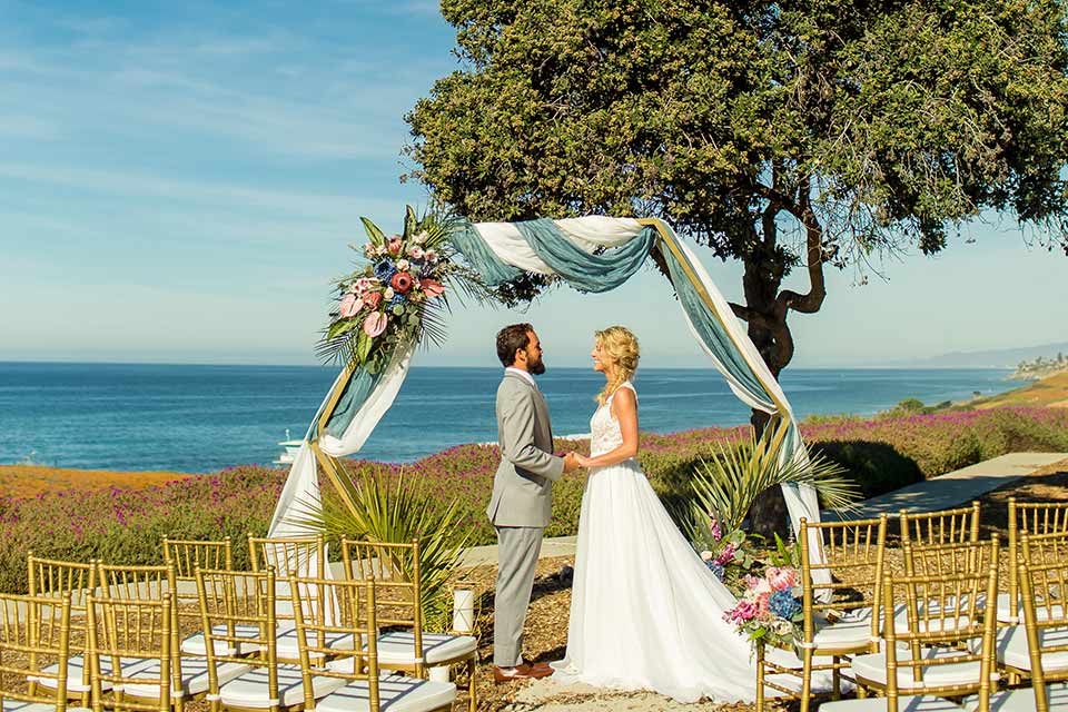 Spring Inspired Wedding by the Sea