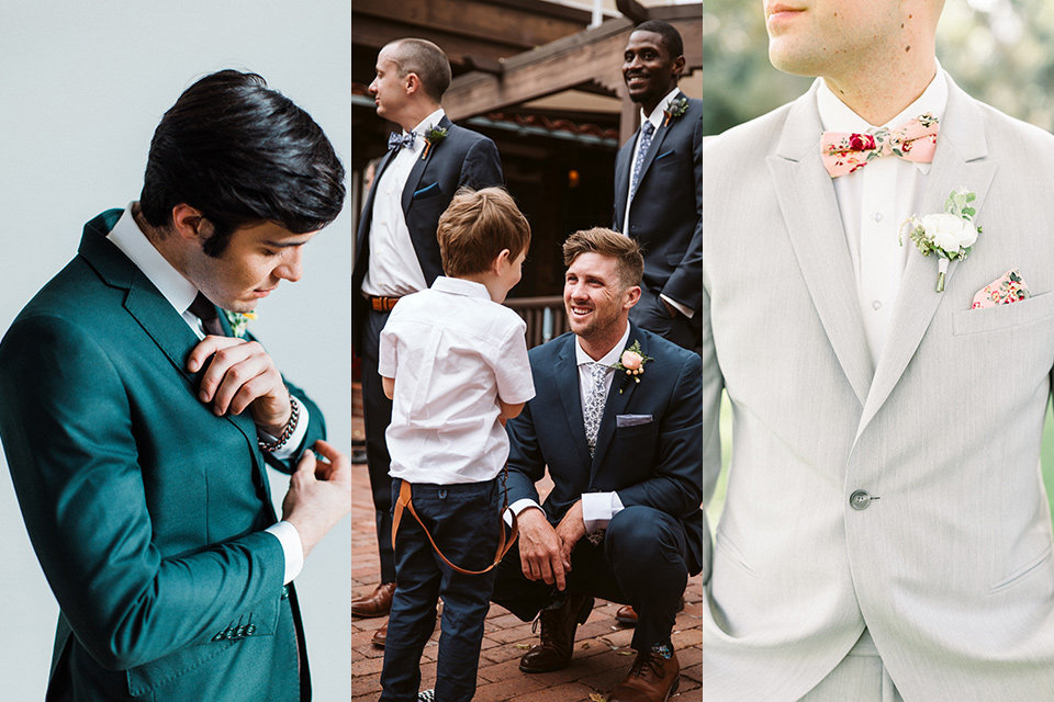 Top Wedding Colors of 2019: Groom's Style