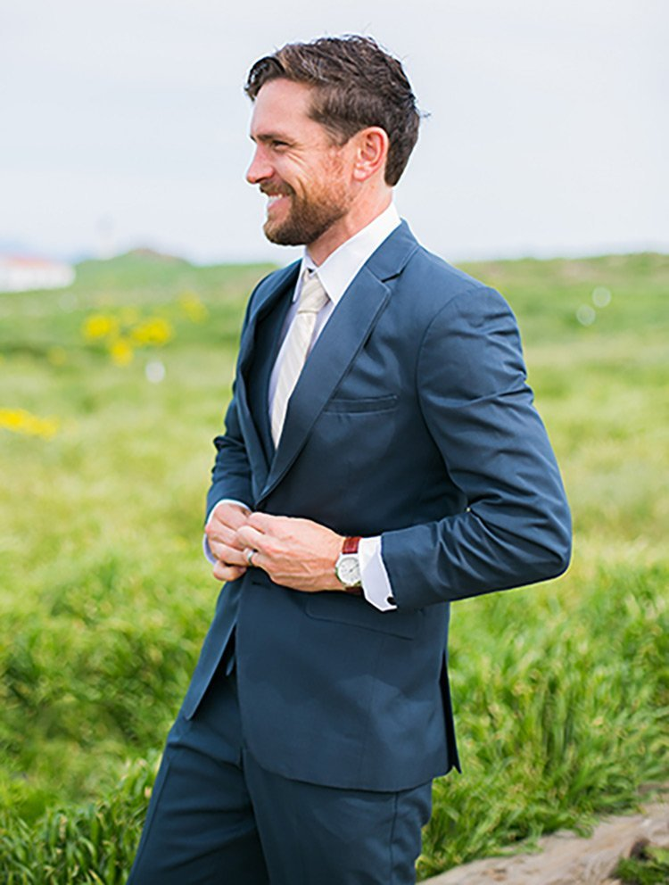 Cobalt Blue Modern Fit Suit